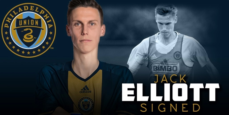 premium selection 61cc2 49c61 JACK ELLIOTT SIGNS WITH THE PHILADELPHIA UNION - IPZ